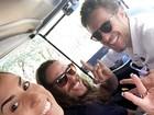Juliana Dias posta foto com Daniel e Tamiel antes da final do 'BBB 16'