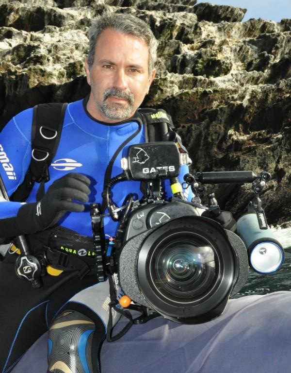 Lawrence Wahba em Galápagos (Foto: Divulgação/Cristian Dimitrius)