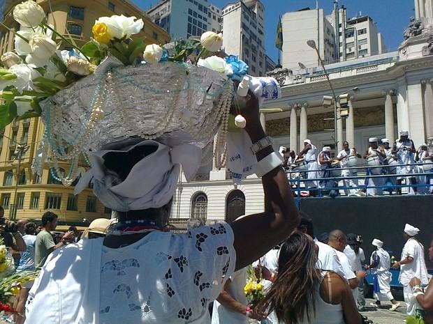 Afoxé Filhos de Gandhi vai homenagear Iemanjá no sábado (2), no Rio  (Foto: Divulgação)