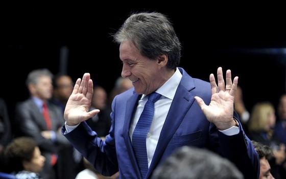 Presidente do Senado, Eunício Oliveira (Foto: Jane de Araújo/Agência Senado)
