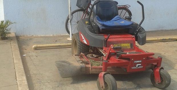 Imagem ilustrativa de cortador de grama (Foto: G1)