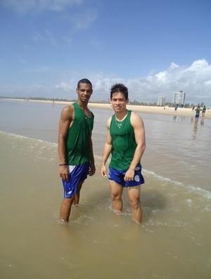 Valdo e Hugo Deleon vão para o Botafogo-PB (Foto: Arquivo Pessoal)