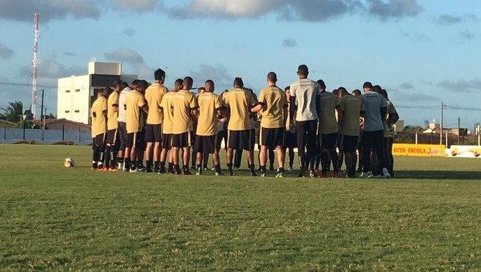 botafogo-pb, treino (Foto: Divulgação / Botafogo-PB)