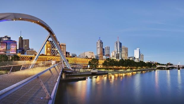 Melbourne , na Austrália: eleita a melhor cidade para se viver, segundo The Economist (Foto: Divulgação)