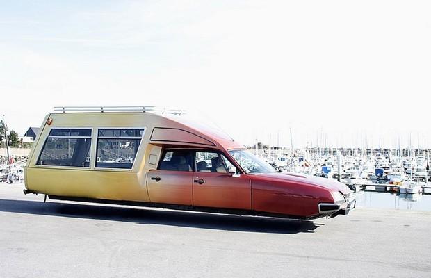 Carro Voador: Citroën CX  (Foto: Divulgação)