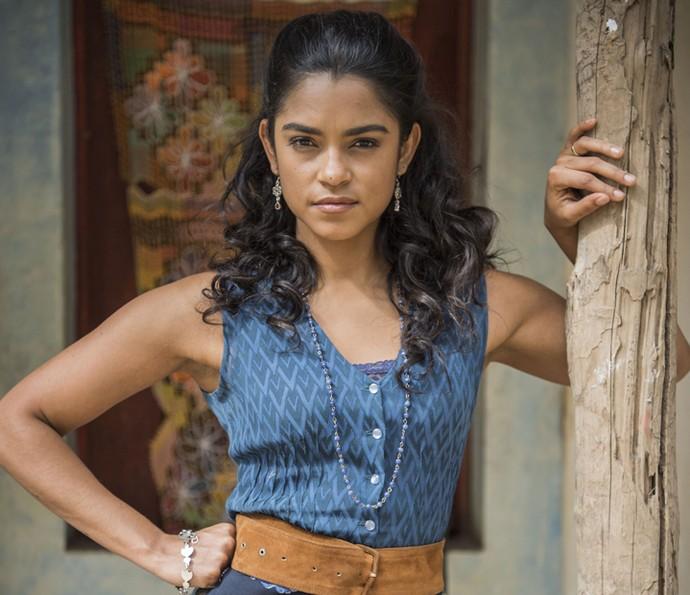 Lucy Alves é Luzia em 'Velho Chico' (Foto: Caiuá Franco/ Globo)