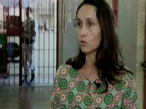 Diretora-geral do Presídio Floramar, Elisabete Pinheiro Fernandes (Foto: TV Integração/Reprodução)