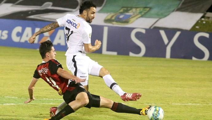 ABC - Nando, atacante - ABC x Botafogo-SP (Foto: Frankie Marcone/ABC FC/Divulgação)