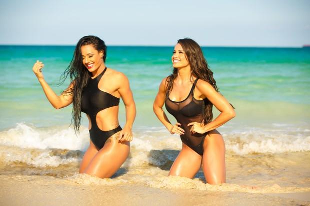 Sue Lasmar e Fernanda D'avila (Foto: Allen Grisby / MF Models Assessoria)