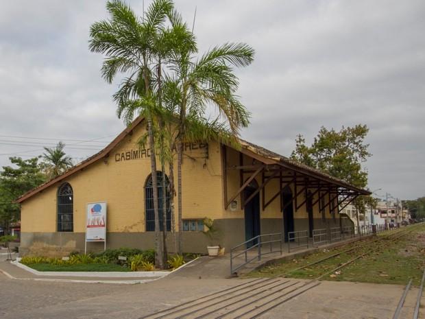 Casa de Cultura Estação Casimiro de Abreu (Foto: Divulgação/Secom Casimiro de Abreu)