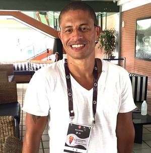 Alex, ex-jogador do Coritiba (Foto: Thiago Quintella)
