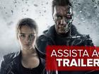 Arnold Schwarzenegger elogia atriz do novo 'Exterminador': 'Babam litros'