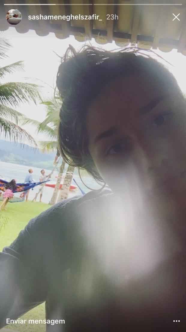 Sasha curte fim de semana em Angra dos Reis (Foto: Reprodução do Instagram)