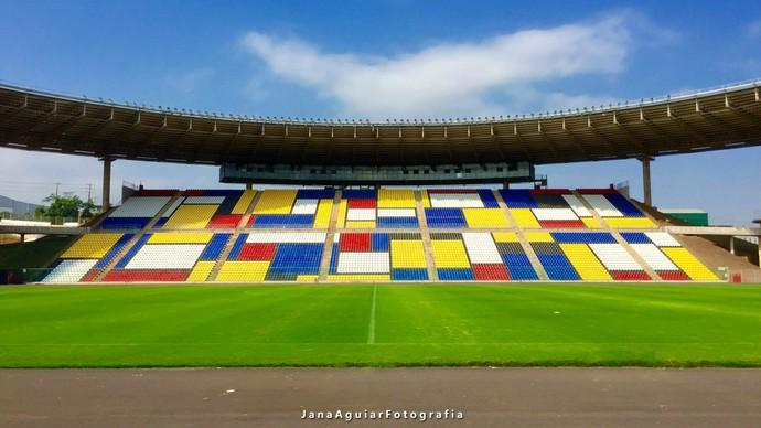 Estádio Kleber Andrade (Foto: Jana Aguiar)