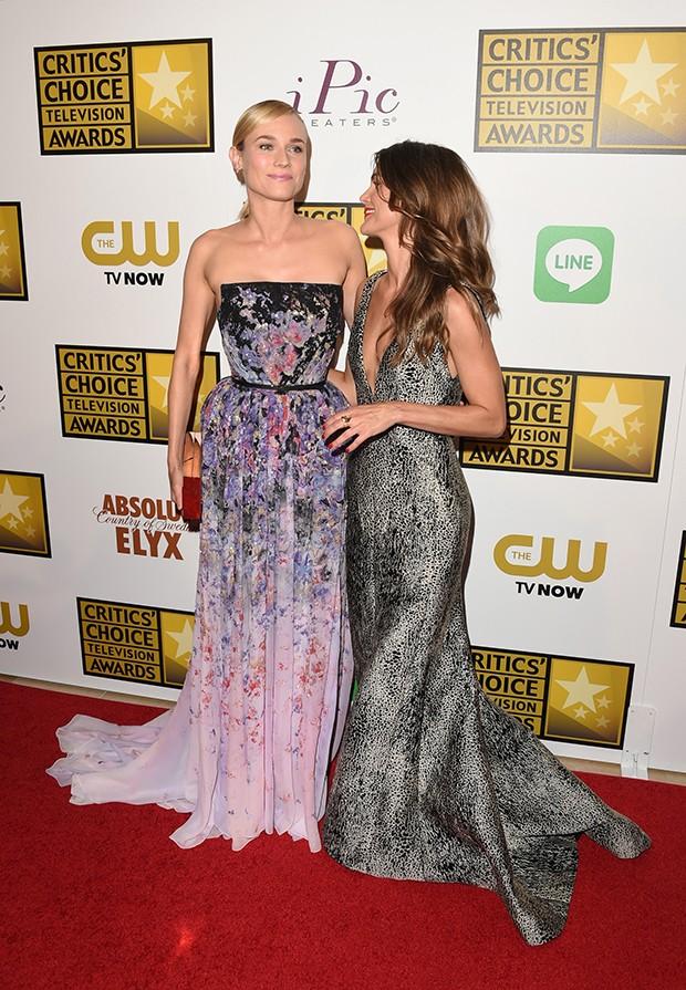 Diane Kruger e Keri Russel (Foto: Getty Images)