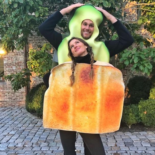 Gisele Bündchen e Tom Brady no Halloween (Foto: Instagram/Reprodução)