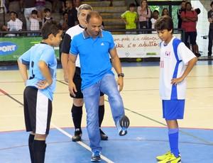 Léo Santos Copa TV Tribuna de Futsal Escolar (Foto: Bruno Gutierrez)
