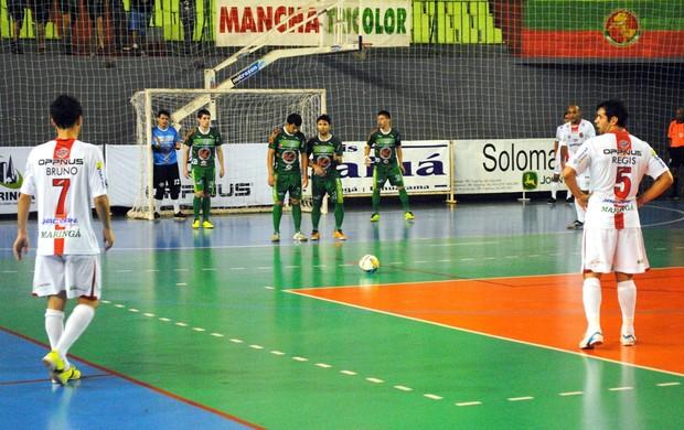Maringá e Paranavaí Futsal Paranaense Série Ouro (Foto: Divulgação)