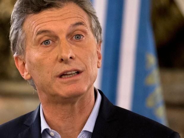 O presidente eleito da Argentina, Maurício Macri, em foto de 7 de abril (Foto: AP Foto/Natacha Pisarenko)
