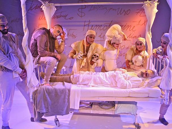 Cia D'Alma foi fundada em 2010 e aborda temas ligados à dramaturgia cômica (Foto: Divulgação)