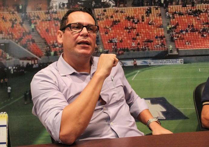 Roberto Pinheiro, diretor de marketing do Nacional-AM (Foto: Marcos Dantas)