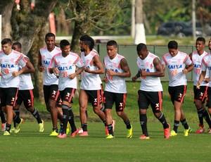 jogadores flamengo treino (Foto: Gilvan de Souza / Flamengo)