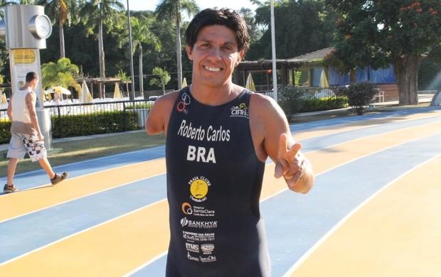 Roberto Carlos Silva, Para-triatleta do Praia Clube Uberlândia (Foto: Divulgação/Praia Clube)
