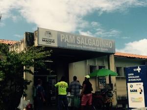 PAM Salgadinho continua funcionando com 30% de médicos (Foto: Carolina Sanches/G1)