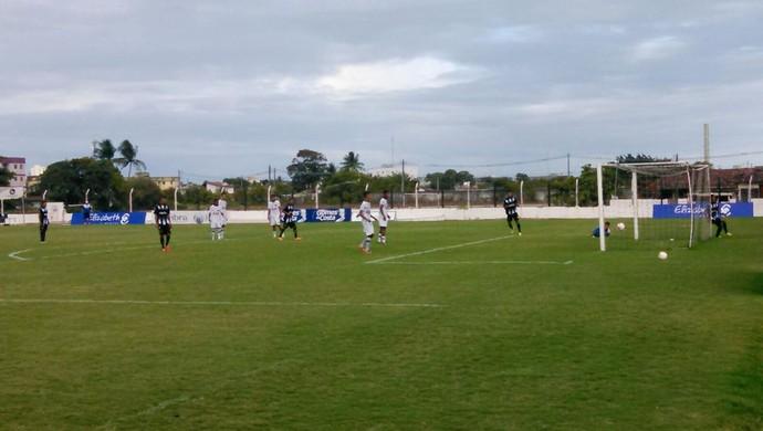 Botafogo-PB 3 x 0 ABC - amistoso sub-19 - João Pessoa (Foto: Reprodução/ABC)