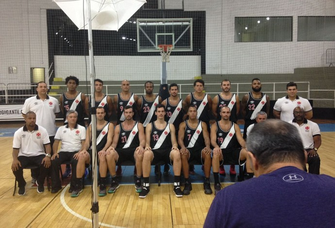 Vasco basquete media day NBB (Foto: Mateus Palmieri)