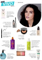 Julia Konrad, de 'Malhação', abre nécessaire e lista top 10 de beleza