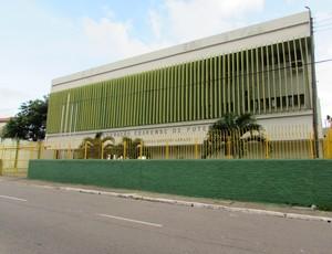 Federação Cearense de Futebol, FCF, frente, fachada, Federação, Cearense, Futebol (Foto: Juscelino Filho)