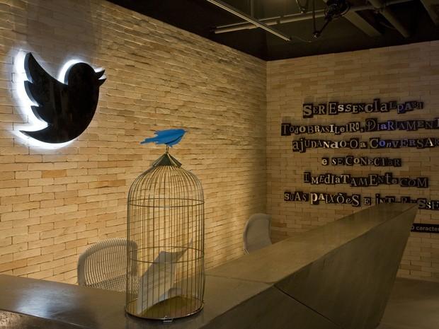 Twitter inaugura nova sede da empresa em São Paulo. (Foto: Divulgação/Twitter)