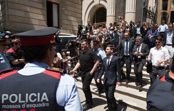 Jornal: pai de Messi já se reuniu com Bartomeu para tratar de renovação