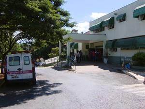 Santa Casa de Formiga (Foto: TV Integração/Reprodução)