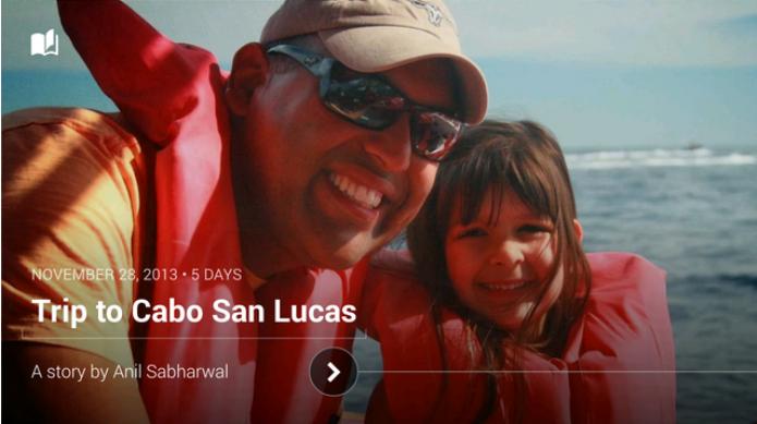 Google+ lança novo recurso que permite a criação de linha do tempo e vídeos com trilha sonora usando suas fotos (Foto: Divulgação)