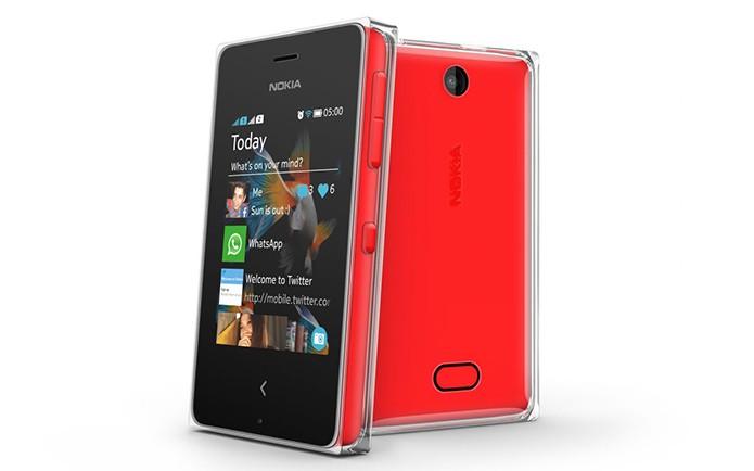 Asha 500 é um aparelho básico da Nokia com câmera de 3,15 megapixels e Wi-Fi (Foto: Divulgação/Nokia)