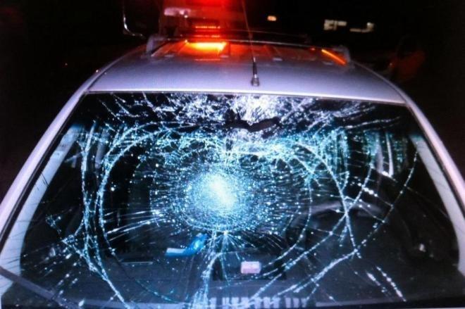 O carro que atropelou Ina