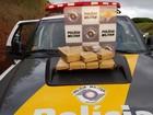 Três jovens são presos com tijolos de maconha em rodovia de Piracicaba