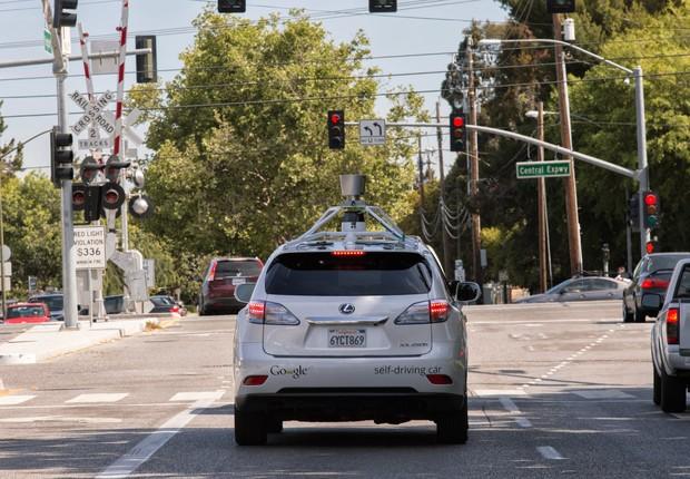 Google está testando carro sem motorista na cidade