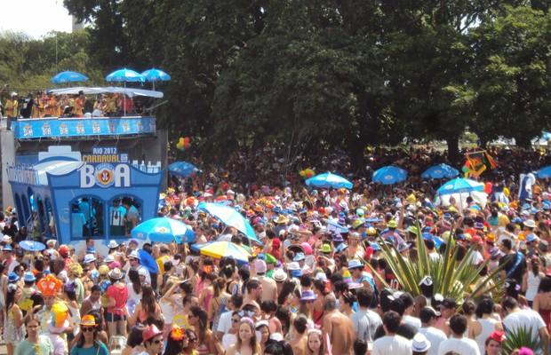 Carnaval de rua do Rio: o número de foliões passou de 1,5 milhão para 5 milhões, em apenas dois anos (Foto: Divulgação)