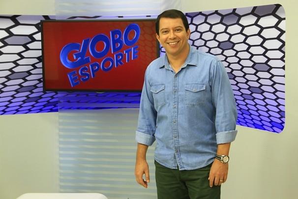 Apresentador do Globo Esporte Paraíba, Kako Marques (Foto: Rizemberg Felipe/TV Cabo Branco)