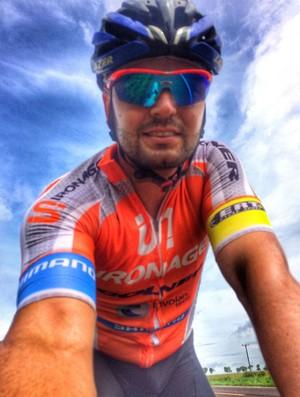 Tiago Damasceno Lobo ciclista Presidente Prudente (Foto: Tiago Damasceno Lobo / Arquivo Pessoal)