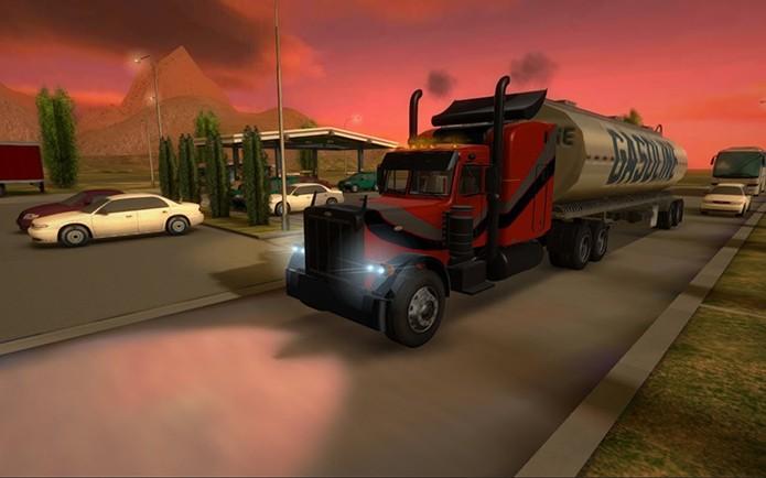 Truck Simulator 3D (Foto: Divulgação)