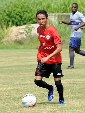 Rafinha treino Flamengo (Foto: Alexandre Vidal)