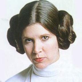 """Princesa Leia, de """"Guerra nas estrelas"""" (Foto: reprodução da internet)"""