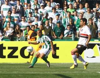 Globo Esporte Paraná (Foto: Site Oficial do Coritiba)