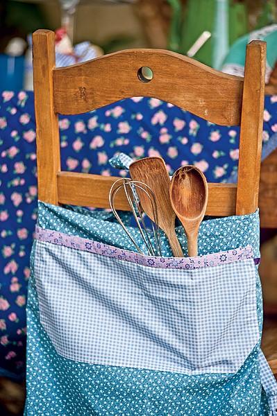 Detalhe: vale até brincar e encher os bolsos dos aventais (Foto: Ricardo Côrrea/Casa e Comida)