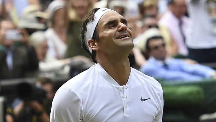 Roger Federer Wimbledon (Foto: Glyn KIRK / AFP)