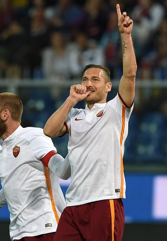 Totti Roma e Genoa (Foto: Getty Images)